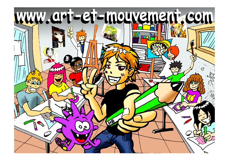 Ateliers Manga/BD – Art & Mouvement
