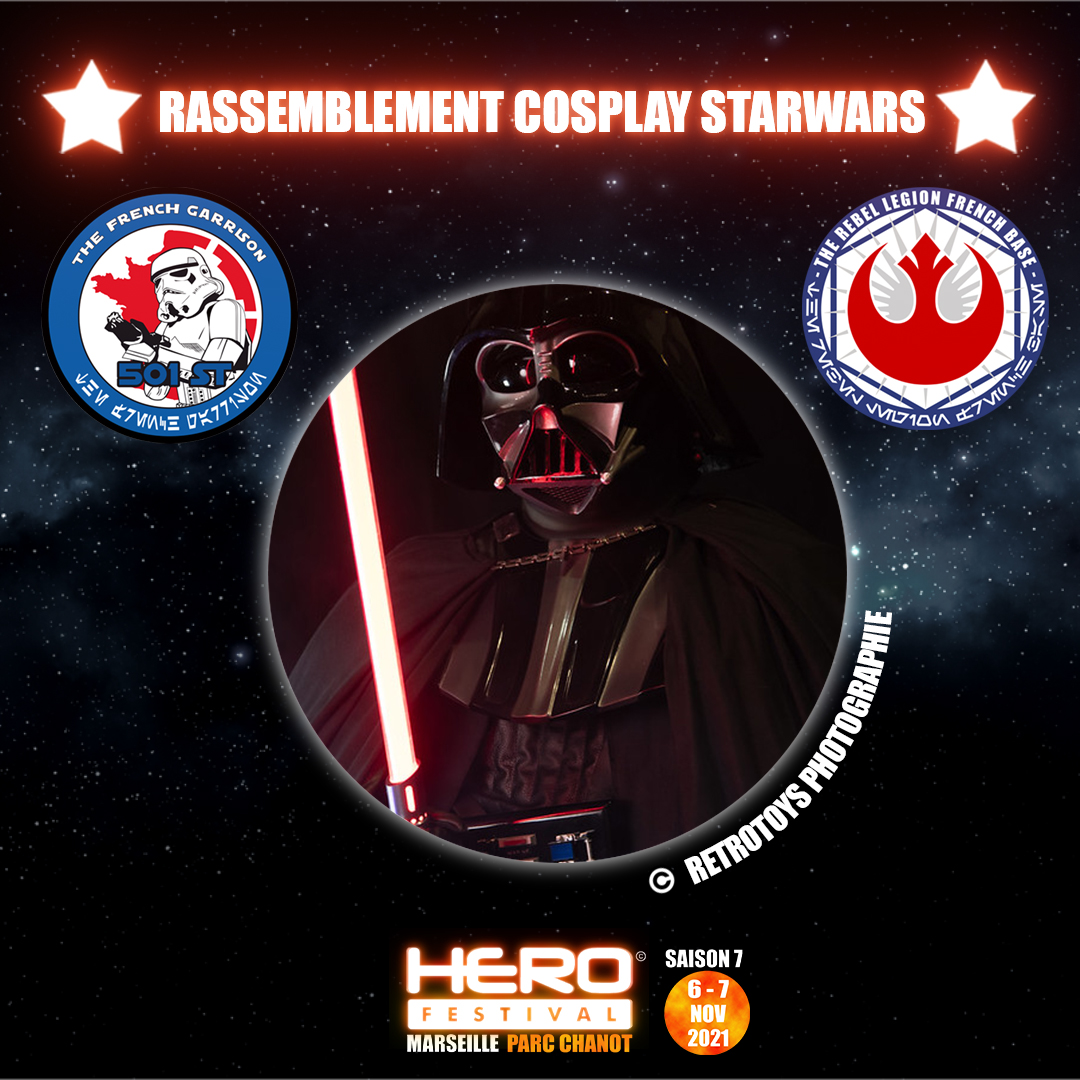 Read more about the article Rassemblement cosplay Star Wars