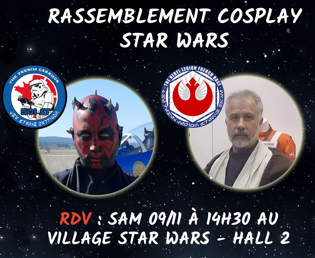 Rassemblement cosplay Star Wars